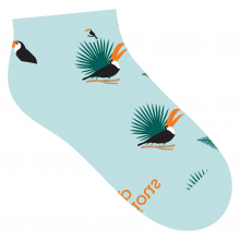 Socks that Protect Toucans by Conscious Step in Chelan WA