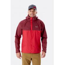 Men's Downpour Eco Jacket by Rab in Golden CO