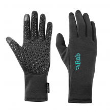 Power Stretch Contact Grip Gloves Womens by Rab in Chelan WA