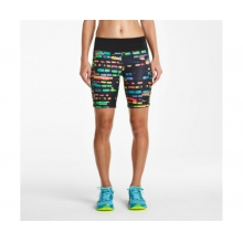"Women's Scoot Tight Short 8"" by Saucony in Oakland Ca"