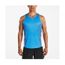 Men's Endorphin Singlet by Saucony in Carlsbad Ca