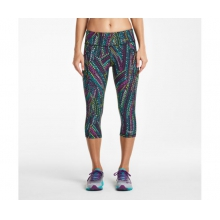 Women's Bullet Capri by Saucony in Oklahoma City Ok