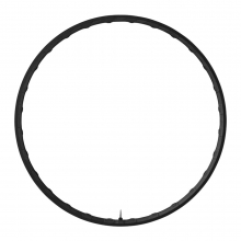 Rim Only For Wh-M9000-Tl F15/R/R12-275, 28H Carbon-Alloy Composite, Clincher(Tubeless Type)