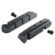 R55C4-1 Brake Shoes & Fixing Bolts For Carbon Rim (-1Mm Thinner Shoe) by Shimano Cycling