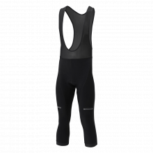 3/4 Winter Bib Tights by Shimano Cycling