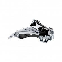 Front Derailleur, Fd-Ty510-Ts3, Tourney, Top-Swing, Dual-Pull, For Rear 6/7-Speed,Band Type 34.9Mm(W/S & M Adapter),Cs Angle:63-66, For 48T,Cl:47.5/50Mm by Shimano Cycling in Alamosa CO