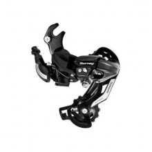 Rear Derailleur, Rd-Ty500, Tourney, 6/7-Speed, W/Riveted Adapter(Road Type), W/ Wheel Type Cable Guide