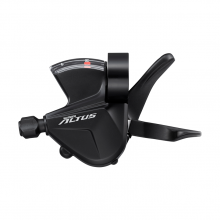Shift Lever, Sl-M2010-L, Altus, Left, 3-Speed Rapidfire Plus, W/Optical Gear Display by Shimano Cycling