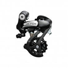 Rear Derailleur, Rd-M310-L, Altus 7/8-Speed Direct Attachment Black