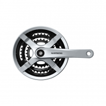 Fc-Ty501 Crankset W/Cg Silver by Shimano Cycling in Alamosa CO