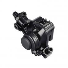 Cable Type Disc Brake, Br-M375-L Front O R Rear W/O Adapter, Resin Pad,  Black by Shimano Cycling in Alamosa CO