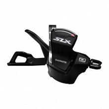 Shift Lever, Sl-M7000-R, Slx, Right:11-Spd, W/ Optical Gear Display, W/Base Cap, Black by Shimano Cycling