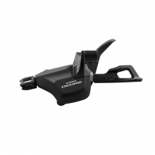 Shift Lever, Sl-M6000-Il, Deore, Left, Front 2/3-Speed Rapidfire Plus W/O Ogd, Direct Attach To Bl(I-Spec Ii) by Shimano Cycling