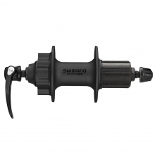 Freehub, Deore(01)Fh-M525A L Qr 32H 8/9/10-Speedold:135Mm Axle:146Mm For Disc Brake(6 Bolt), Black