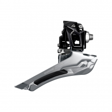 Front Derailleur, Fd-R7000, 105, For Rear 11-Speed, Down-Swing, 31.8Mm Band(W/28.6Mm Adapter),Cs-Angle:61-66, For Top Gear:46-53T, Black by Shimano Cycling