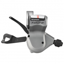Shift Lever, Sl-4600, Tiagra, For Flat Handlebar Road, Left 2-Speed Rapidfire Plus, Optical Gear Display by Shimano Cycling