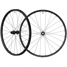 Wheel, Wh-Mt600-27.5, F&R:24H, For 11Sf:15/R:12Mm E-Thru,Tubeless, Old:100/142Mm, Black, Cl Disc by Shimano Cycling