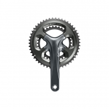 Front Chainwheel, Fc-4700, Tiagra Double 170Mm 2-Pcs Fc, For Rear 10-Speed 50X34T W/O Bb Parts