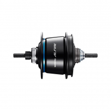 Internal Hub Gear 8-Speed For Disc, Sg-S7051-8, Alfine Di2, 32H 135X187Mm, W/Rotor Mount Cover, Silver by Shimano Cycling