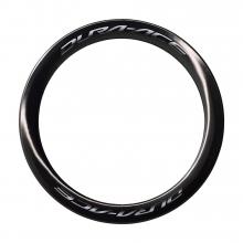 Rim Only For Wh-R9170-C60-Tu Rear 12Mm E-Thru, 24H Tubular by Shimano Cycling