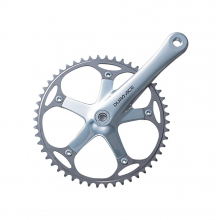 Cotterless Type Crankset,Dura-Ace Track,Fc-7710, 172.5Mm, W/O Chainring, W/Chainring Fixing Bolt & Nut,Njs Type by Shimano Cycling