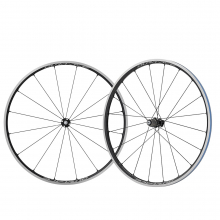 Wheel, Wh-R9100-C24-Cl F/R, F:16H/20Hcarbon Laminate Rim(W/Rim Tape)Clincher, Old:100/130Mm, R-Qr:168Mm, W/Wheel Bag by Shimano Cycling