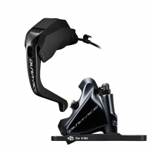 Disc Brake Assembled Set/J-Kit Direct, St-R9180(L) Br-R9170(F) For 140Mm Rotor, Resin(W/Fin), Sm-Bh90 by Shimano Cycling
