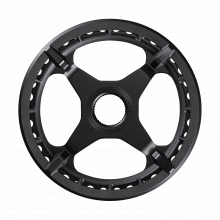 Chainring, Sm-Cre50, 44T W/Chain Guard(Single), For Chain Line 46.5Mm by Shimano Cycling