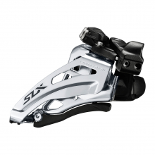 Front Derailleur, Fd-M7020-L, Slx, For 2X11, Low Clamp, Side-Swing, Front-Pull, Band-Type 34.9Mm(W/28.6&31.8Mm Adpt), Cs-Angle:66-69 by Shimano Cycling