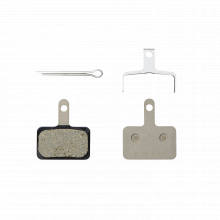 B01S Resin Brake Pad - Resin Pad(B01S), Pad Spring, W/3 Types Of Split Pin, 1 Pair by Shimano Cycling in Alamosa CO