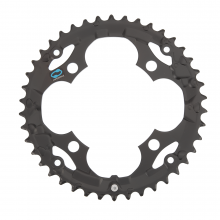 FC-M415 CHAINRING 42T (BLACK) by Shimano Cycling