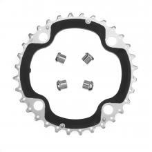 Fc-M670-10 Chainring 32T-Ae(B-Type)W/Fixing Nut 4Pcs. by Shimano Cycling