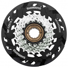Multiple Freewheel Sprocket, Mf-Tz510 14-34T, 7-Speed, 14-16-18-20-22-24-34T, W/Spoke Protector