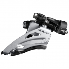 Front Derailleur, Fd-M3120-M, Alivio, For 2X9, Mid Clamp, Side Swing, 34.9Mm Band (W/31.8 & 28.6Mm Adapter), Cs-Angle: 64-69, For Top Gear: 36T, Cl: 48.8Mm by Shimano Cycling