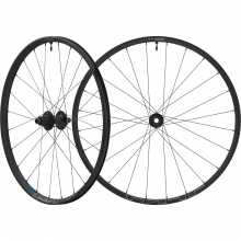 Wheel, Wh-Mt601-B-27.5, F&R 24H, For 12S F:15/R:12Mm E-Thru, Tubeless, Old:110/148Mm, Black, W/Tubeless Tape, For Cl Disc by Shimano Cycling