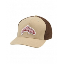 Flexfit Trucker Woodblock by Simms