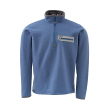 Montana TechWool Zip Top by Simms