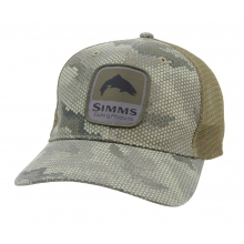 Patch Trucker Cap by Simms in Lewiston Id