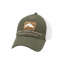 Trout Trucker Cap by Simms in Victor Id