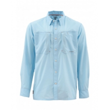 Ultralight LS Shirt by Simms in Evergreen Co