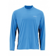 SolarFlex LS Crewneck Solid by Simms in Edwards Co