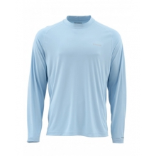 SolarFlex LS Crewneck Solid by Simms in Bend Or
