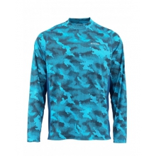 SolarFlex LS Crewneck Prints by Simms in Oklahoma City Ok