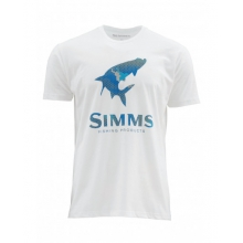 Hex Camo Tarpon Logo SS T by Simms in Cornwall Bridge Ct