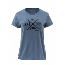 Women's Trout Crossing SS T by Simms