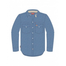 Stillwater LS Shirt - Chambray by Simms in Linville Nc