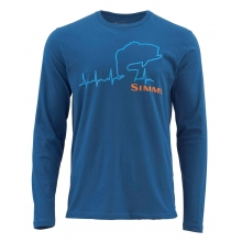 Bass Heartbeat LS T by Simms
