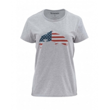 Women's USA Flag Trout SS T
