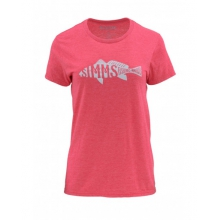 Women's Woodblock Redfish SS T