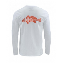 Woodblock Redfish LS T by Simms